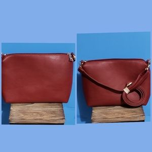 Andrew Marcs Cognac Sidebody Bag New Without Tags